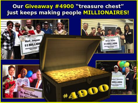 Pch Giveaways - in less than a year publishers clearing house giveaway 4900 has made