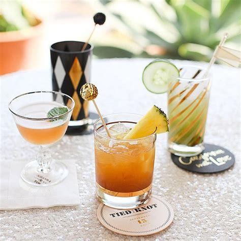 signature wedding cocktail ideas popsugar food