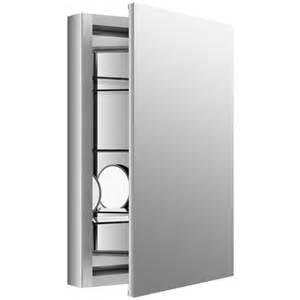 kohler recessed medicine cabinets with mirrors kohler verdera 20 quot w x 30 quot h aluminum medicine cabinet