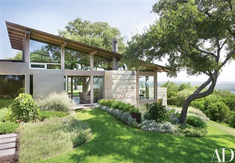 hillside home a hillside home in austin texas becomes a coveted