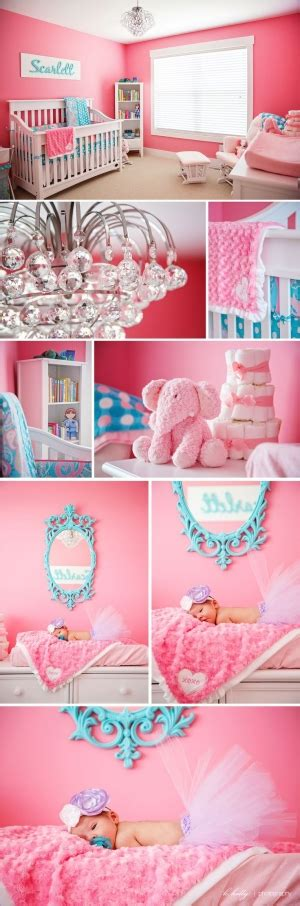 girls bedroom w aqua blue pink green with paris green pink cream daybed girls room