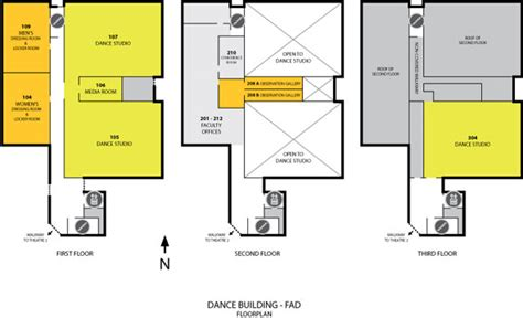 dance floor plan dance fad floorplan college of the arts university
