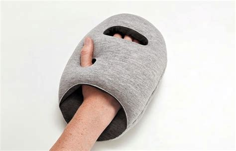 Ostrich Sleeping Pillow by Ostrich Pillow Travel Pillow For Napping On The Go Or In