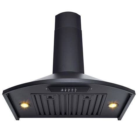 stainless steel kitchen lights akdy 30 in convertible kitchen wall mount range hood with