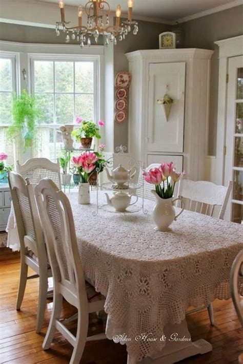chic dining rooms 35 beautiful shabby chic dining room decoration ideas