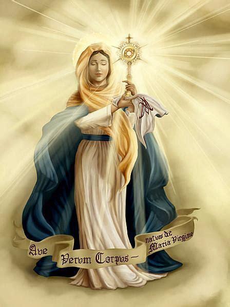 imagenes marianas catolicas nossa senhora nossa senhora da eucaristia