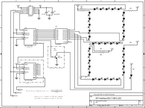 layout rangkaian running led rangkaian led 7 segmen interface my electronic