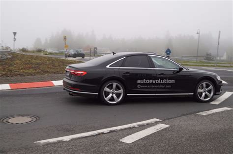2019 Audi S8 by 2019 Audi S8 Spied Showing Exhaust System Autoevolution
