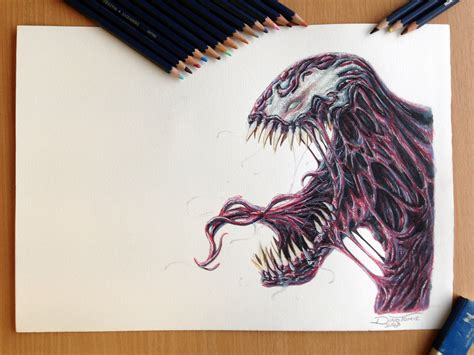 3d Copy And Draw Dinosaurs And carnage drawing by atomiccircus on deviantart