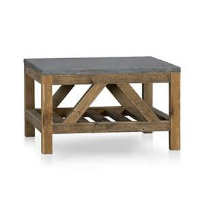 bluestone coffee table bluestone coffee table crate and barrel