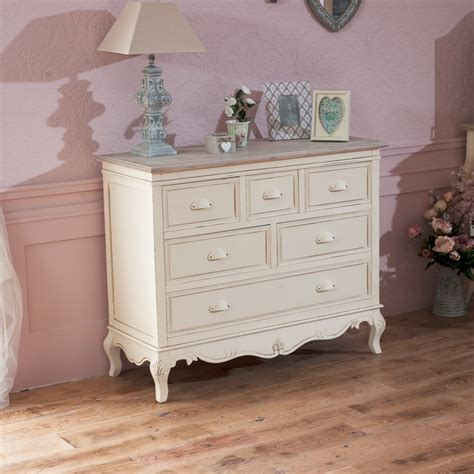 6 drawer chest country shabby vintage chic