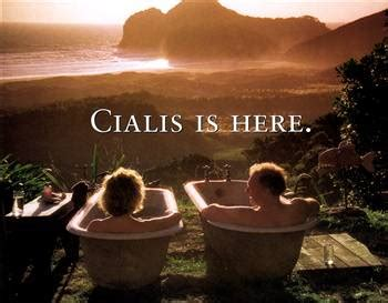bathtub commercial viagra cialis network tv ads now available in advance