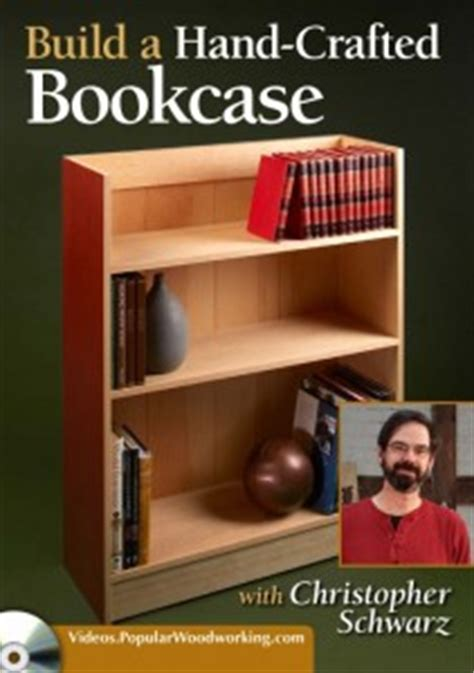 popular woodworking dvd new dvd on bookcases now available popular woodworking