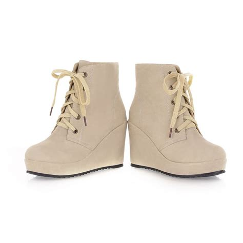 winter high heel lace up ankle feathers colored