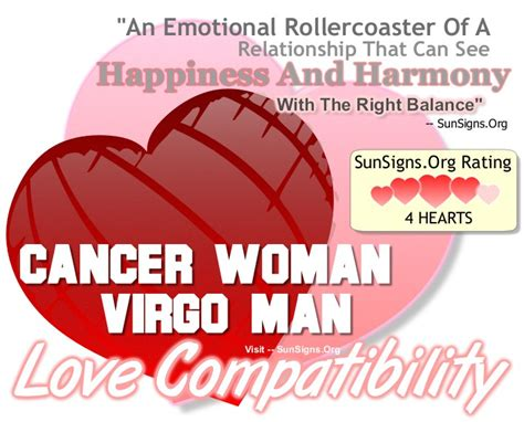 cancer woman and virgo man a happy and harmonious
