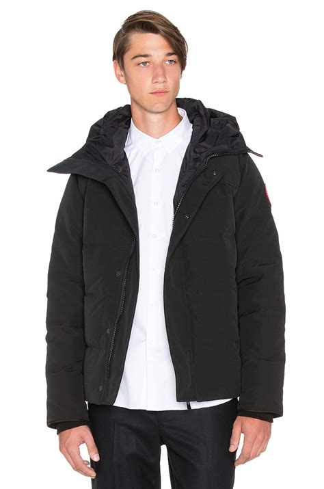 Parka Black 1 canada goose macmillan parka in black for lyst