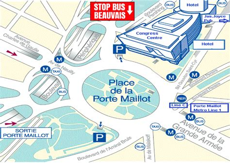 beauvais airport to porte maillot consult direct stop beauvais airport