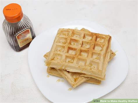 how to make healthy waffles 11 steps with pictures