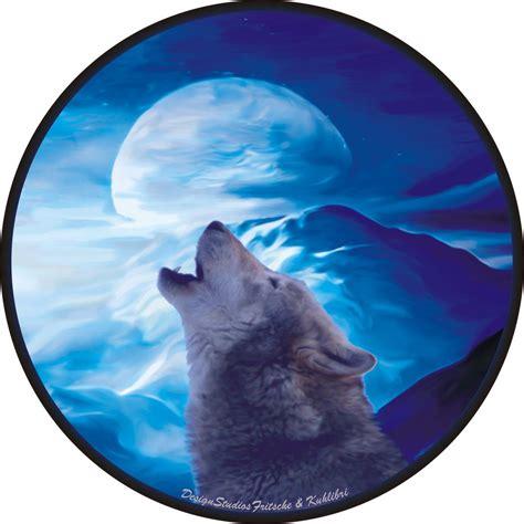 Aufkleber Indianer Und Wolf by Indianer Wolf