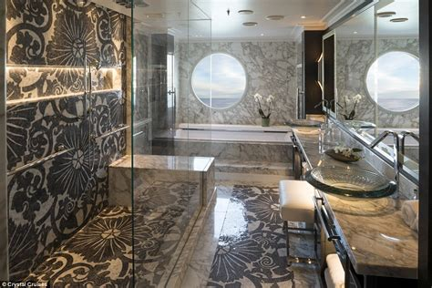 Nicest Showers In The World by Cunard Line And Cruises Luxury Suites Revealed In