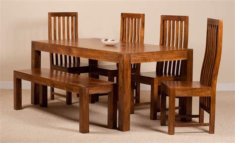 cuba sheesham 6 seater dining set casa furniture dakota mango 6 seater dining set with bench casa furniture uk