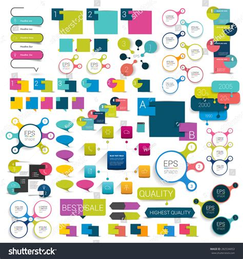 print or web color combinations stock image image collections of info graphics flat design diagrams various
