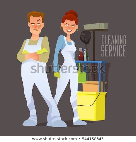 cleaning crew stock images royalty  images vectors