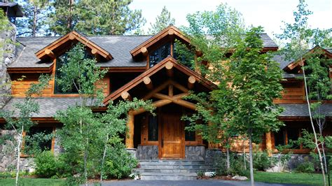 rustic log cabin mountain architects hendricks architecture idaho rustic