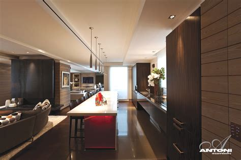 Kitchen Island Seating magnificent luxury penthouse apartment in paris