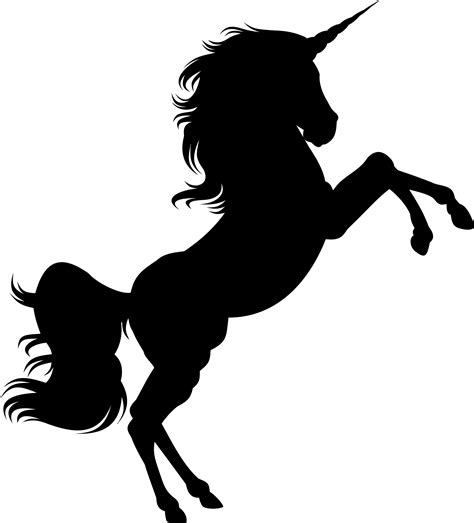 printable unicorn silhouette clipart unicorn silhouette 2