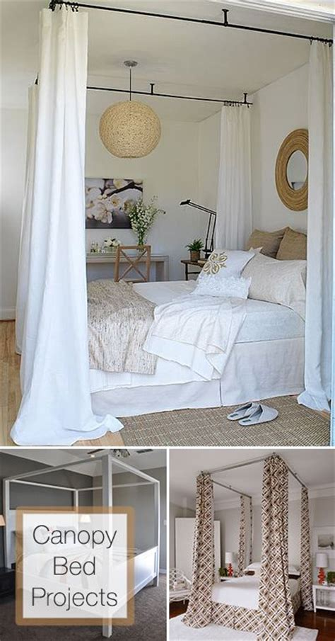 how to put curtains on a canopy bed 25 best ideas about canopy beds on canopy for