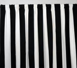 Black White Striped Curtains Interior Endearing Black And White Striped Curtains For Windows Covered Founded Project