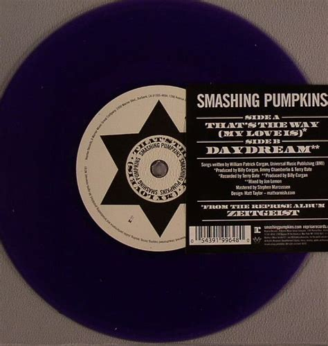 Smashing Pumpkins Sue Records by Smashing Pumpkins That S The Way My Is Vinyl At