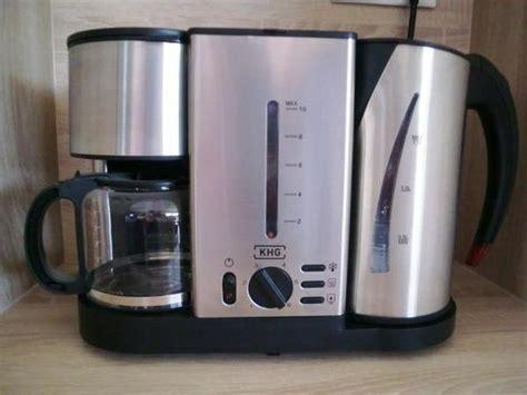 kaffeemaschine wasserkocher toaster fr 252 hst 252 cks station in angesagter edelstahl optik