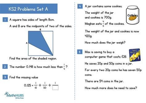 ks2 problem solving and reasoning questions by uk