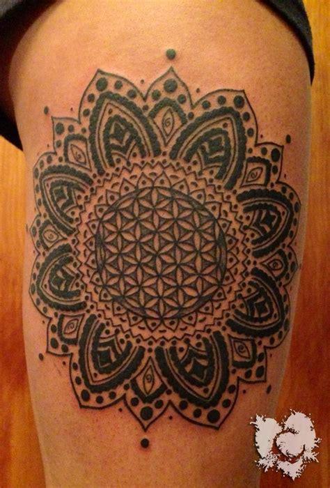 geometric tattoo ink master ceejay mandela mandela sacred geometry eternal ink black