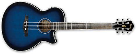 Ibanez Aeg8e Vs Guitar Akustik Elektrik ibanez aeg8e tbs acoustic guitar transparent blue sunburst reverb