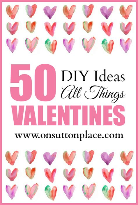 things for valentines 50 diy ideas all things valentines