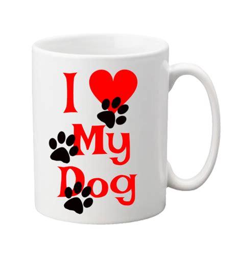 mug design love i love my dog or cat mug label stream