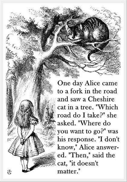 fletch the fork goes on the left books 25 best cheshire cat quotes on cheshire cat