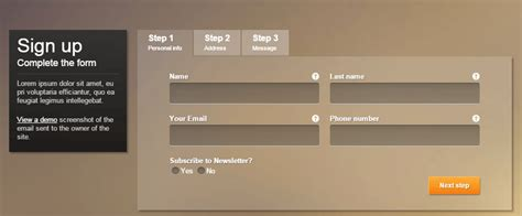 15 best clickable php registration form templates web