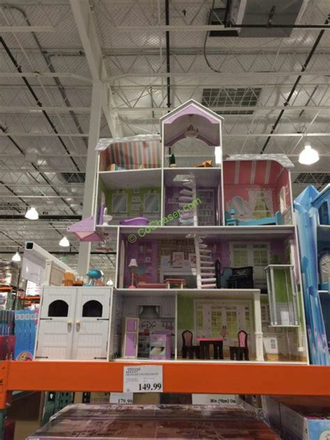 costco doll house kidkraft grand estate dollhouse costcochaser