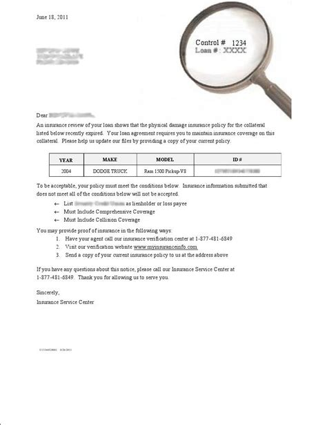 Best Photos of Proof Of Insurance Letter Template   Health