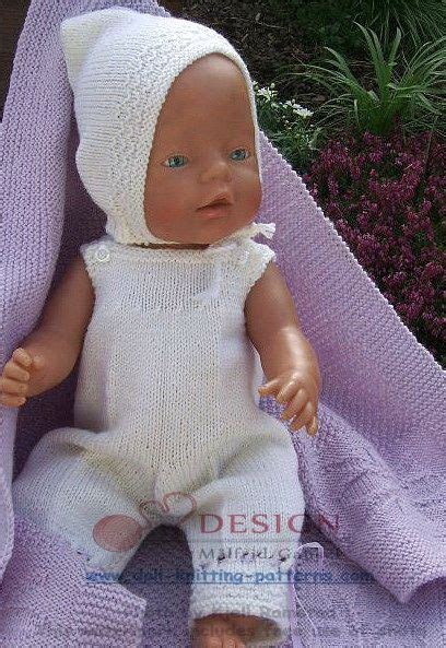 baby doll clothes knitting patterns doll knitting patterns for