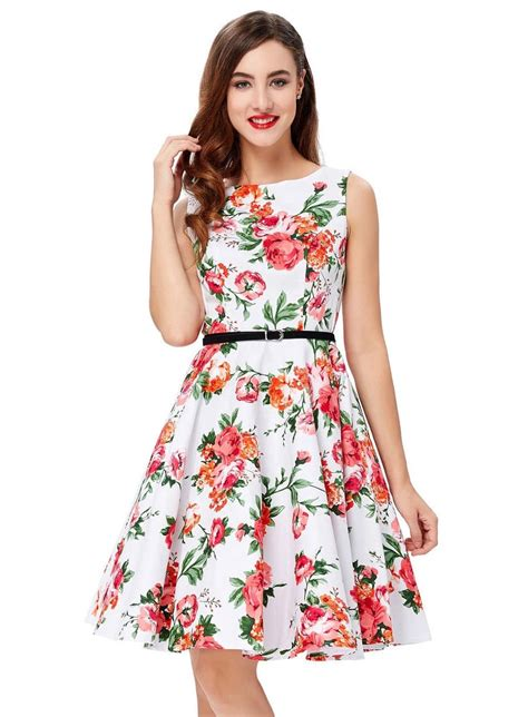 rose swing red rose swing dress 1950sglam