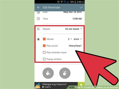android reminders 3 ways to create reminders on an android