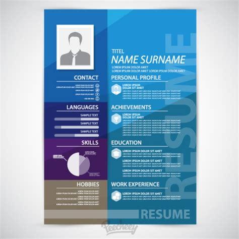 Blue Resume Template
