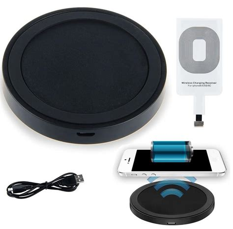 Charging Mat For Apple Products by Qi Wireless Charger Pad Kit For Apple Iphone 7 6s 6 Plus 5