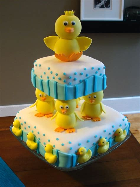 Baby Shower Duck Cakes baby shower cakes baby boy duck shower cakes
