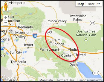 palm springs on california map garage door service palm springs ca garage door repair